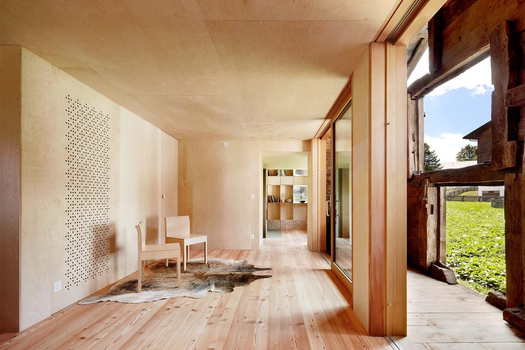 Casa C Reckingen – Wohnbereich