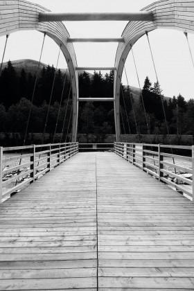Fußgängerbrücke Oberwald