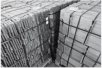 Schindeln aus heimischen Lärchen-Holz