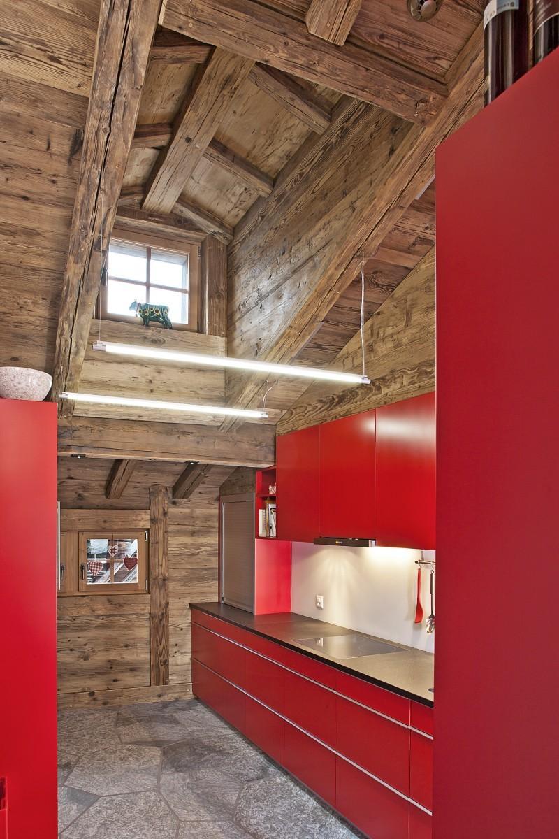 Wohnhaus Goms – Küche