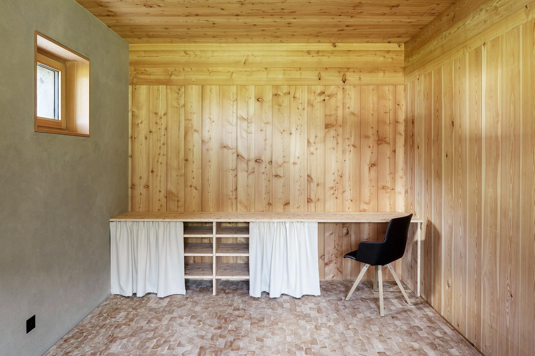 Wohnhaus Münster –Arbeitsbereich –Büro