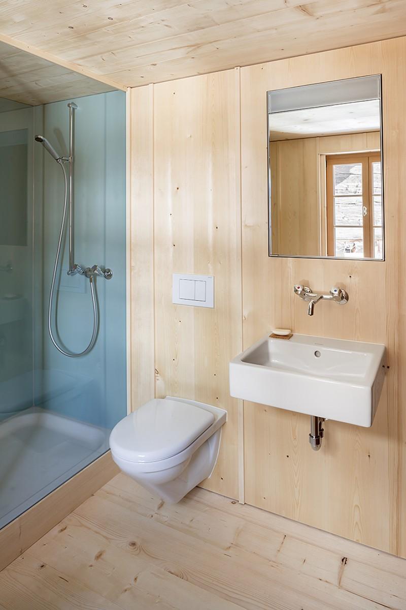 Heidenhaus Münster – Toilette – Dusche