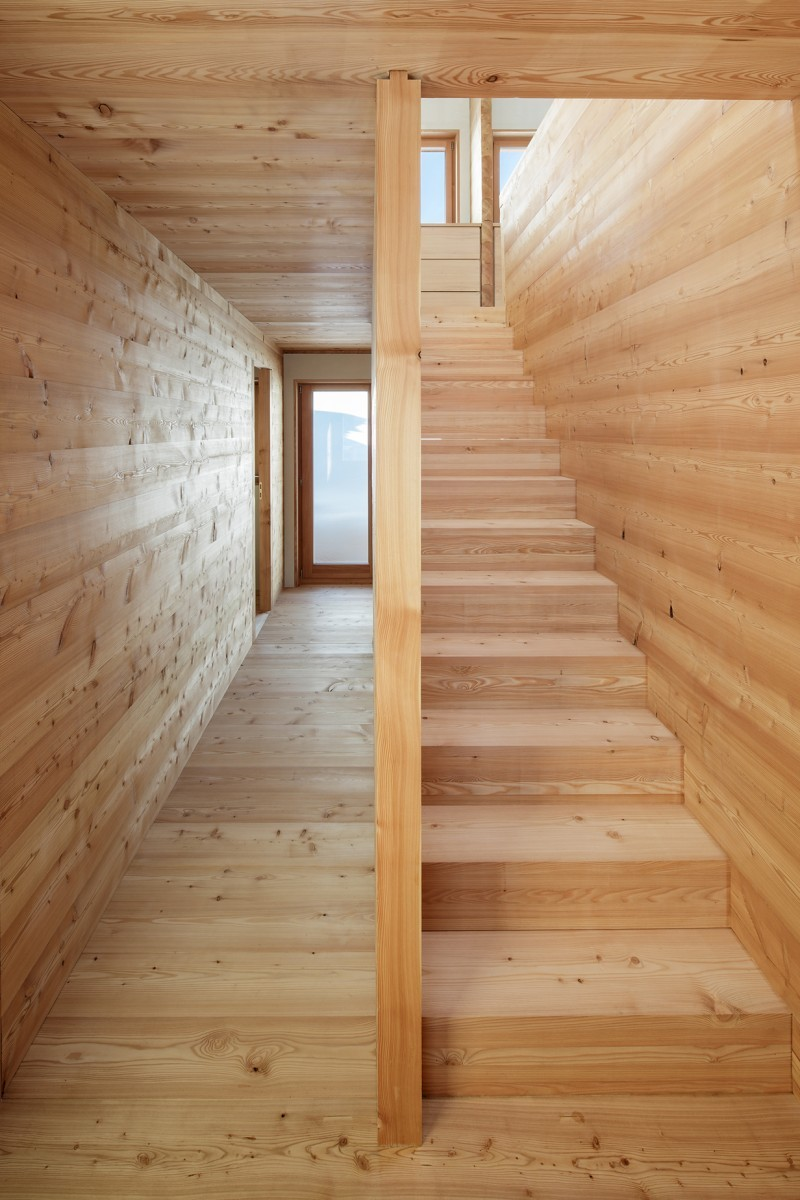 Atelierhaus Reckingen – Treppe