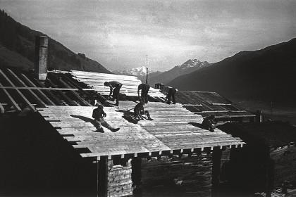 Zimmerleute – ca. 1950